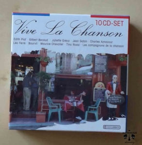 Vive La Chanson, 10CD-SET