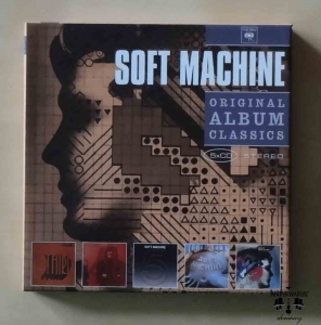 Soft Machine, Original Album Classics, 5 X CD
