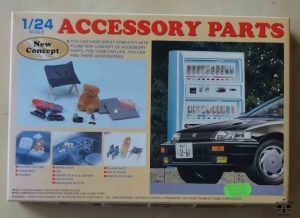 Accessory Parts, 1/24 Scale, Fuijimi 11041, model plastikowy