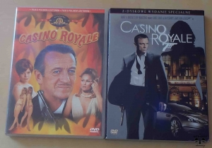 Casino Royale, filmy DVD
