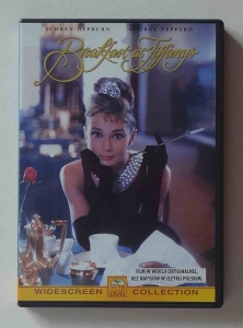 Breakfast at Tiffany's, film DVD