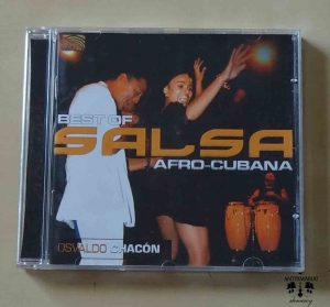 Best of Salsa Afro-Cubana, Osvaldo Chacon, płyta CD