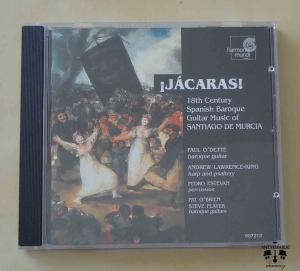 Jacaras! 18th Century Spanish Baroque Guitar Music of Santiago De Murcia, płyta CD