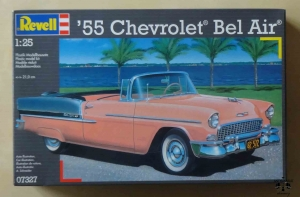 '55 Chevrolet Bel Air, 1:25, Revell 07327, model plastikowy