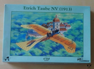 Etrich Taube NV (1913), 1/48 scale, Flashback, KLH 8912, model plastikowy
