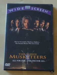The Three Musketeers, film DVD