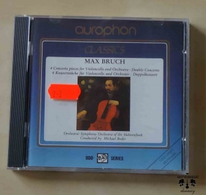 Max Bruch, 4 Concerto pieces for Violoncello, Double Concerto, płyta CD