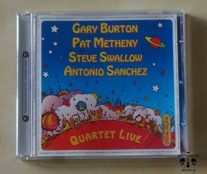 Gary Burton, Pat Metheny, Steve Swallow, Antonio Sanchez, Quartet Live, płyta CD