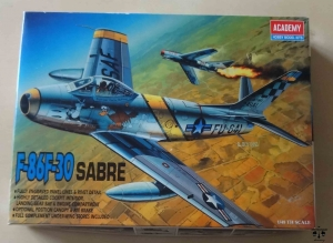 F-86 F-30 SABRE, 1/48 th Scale, Academy FA155 2162, model plastikowy