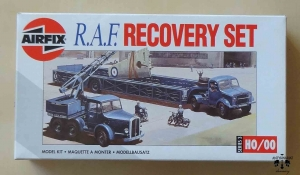 R.A.F. Recovery Set, Series 3 - H0/00, Airfix 03305, model plastikowy