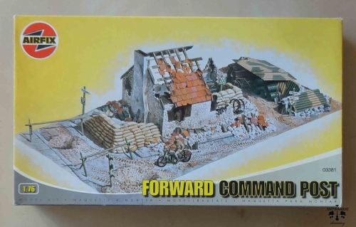 Forward Command Post, 1:76, Airfix 03381, model plastikowy.jpg