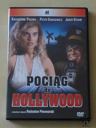 Pociąg do Hollywood. Film DVD.jpg