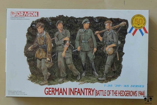 German Infantry (Battle Of The Hedgerows 1944), Dragon 6025, 1:35, '39-'45 Series, model plastikowy.jpg