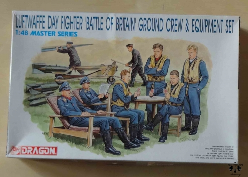 Luftwaffe Day Fighter 'Battle of Britain' Ground Crew & Equipment Set, 1:48 Master Series, Dragon 5532, model plastikowy.jpg