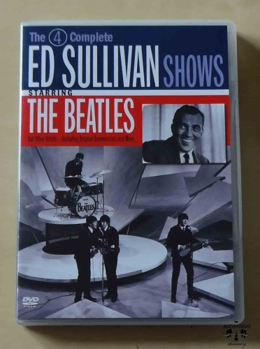 The 4 Complete Ed Sullivan Shows Starring The Beatles, 2 płyty DVD.jpg