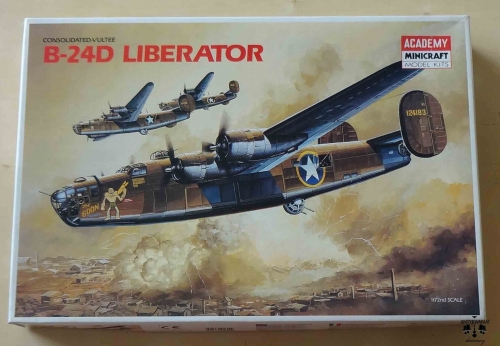 Consolidated-Vultee B-24D Liberator, 1/72nd Scale, Academy 1692, model plastikowy.jpg