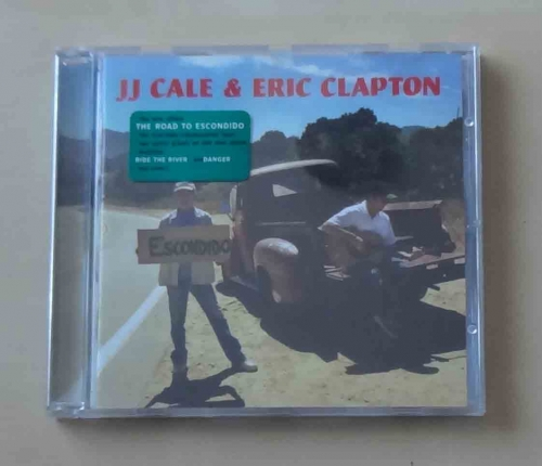 JJ Cale & Eric Clapton. The Road To Escondido. Płyta CD .jpg
