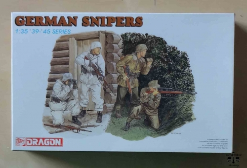 German Snipers 1:35, 39-45 Series, Dragon 6093, model plastikowy.jpg