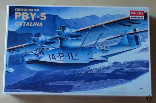 Consolidated PBY-5 Catalina, 1/72nd Scale, Academy 2123, model plastikowy.jpg