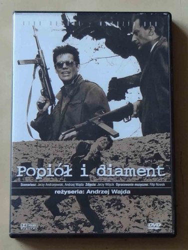 Popiół i diament, film DVD.jpg